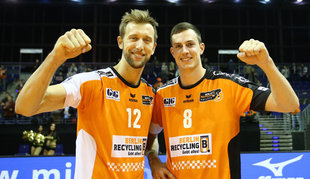 BR Volleys Akteure in der Weltliga - Foto: Eckhard Herfet