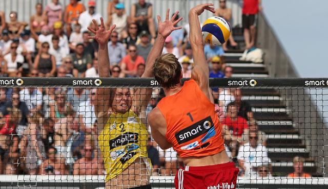 TC-Beacher beim letzten super cup 2016 in Kühlungsborn nach packendem Finale auf Platz 2! - Foto: hochzwei, smart beach tour