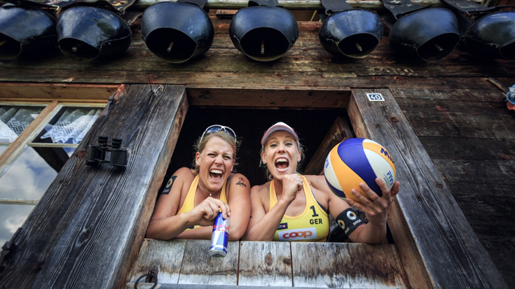 Karla Borger und Britta Büthe<br>Foto: Swatch Beach Major Series/Martin Steinthaler