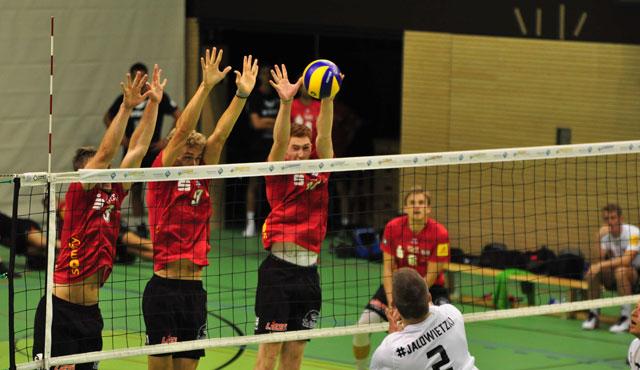 TV Rottenburg gelingt erster Testspielerfolg gegen Fellbach - Foto: TVR Volleyball