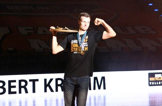 """Robert Kromm ist """"Volleyballer des Jahres"""" - Foto: Eckhard Herfet"""