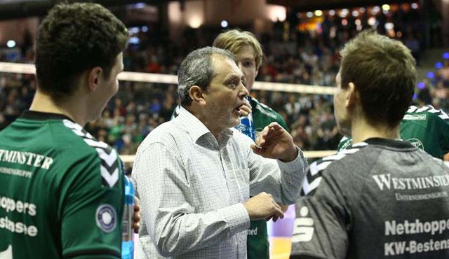 Ex-SCCer kommt in den Volleyballtempel - Foto: Eckhard Herfet