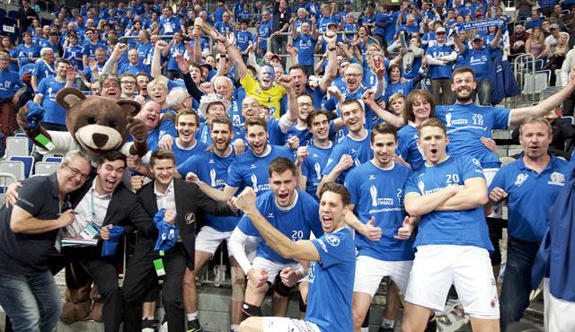Friedrichshafen gewinnt DVV Pokal - Foto: Günter Kram