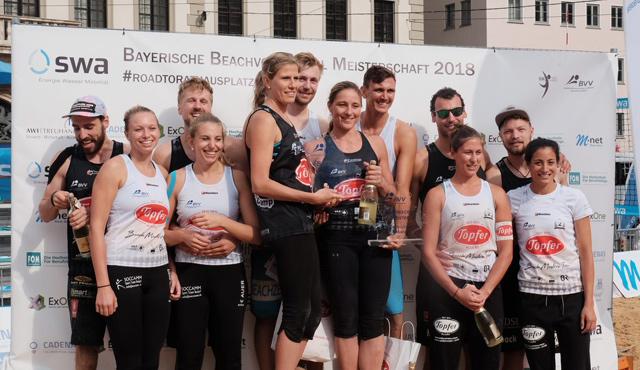 Augsburger Publikum verdient sich Goldmedaille - Foto: BVV