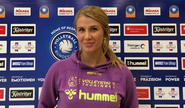 VolleyStars verstärken sich mit Nikolina Jelic - Foto: Ingolf Rust