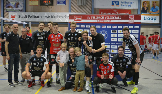 Eltmanns Sieg in Fellbach war auf Kante genäht - Foto: VC Eltmann