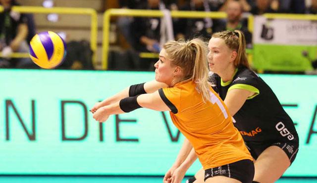 VCO Berlin spielt sein Heimspiel in Aachen  - Ladies in Black Aachen\\ Fotograf-Aachen.de