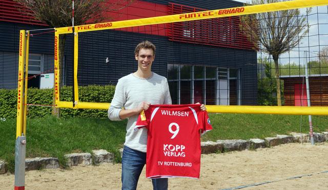 Lars Wilmsen verlängert seinen Vertrag um ein Jahr mit Option auf ein weiteres - Foto: Markus Ulmer, http://www.pressefotoulmer.de