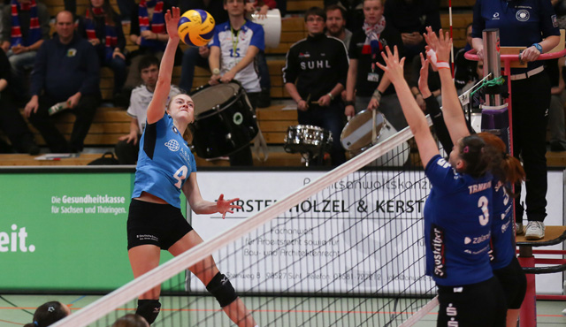 Souverän in Suhl: VCW schlägt VolleyStars Thüringen mit 3:0 - Foto: Detlef Gottwald