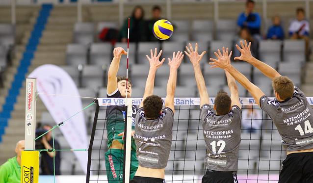 NETZHOPPERS stehen im Playoff-Viertelfinale - Foto: Markus Bloss
