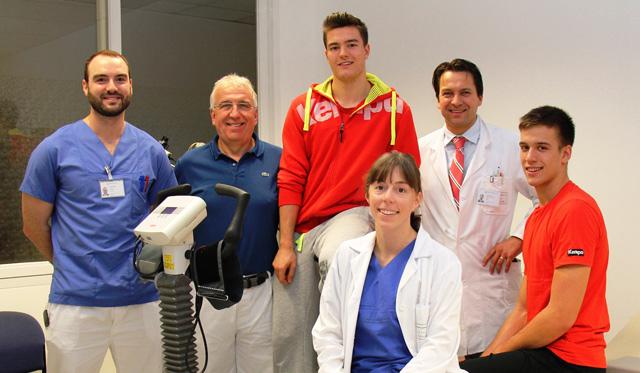 United Volleys kooperieren mit Klinikum Frankfurt Höchst - Foto: Klinikum Frankfurt Höchst