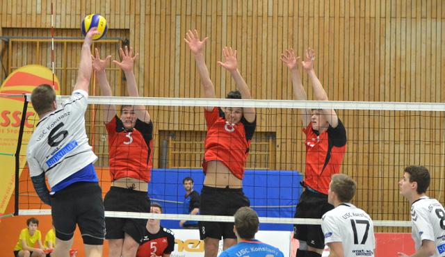 SSC Volleyballer in diesem Jahr weiter in weißer Weste - Foto: SCC