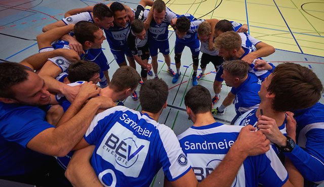SSC Karlsruhe einen Schritt vom DVV-Pokalachtelfinale entfernt - Foto: Andreas Arndt