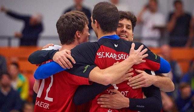 SSC Karlsruhe erfüllt Pflichtaufgabe - Foto: Andreas Arndt