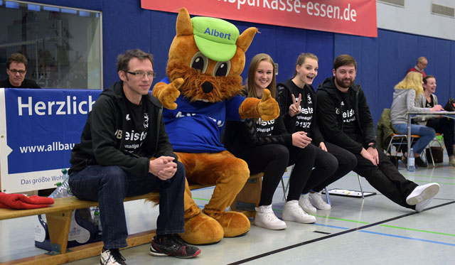 Allbau AG bleibt VC Essen-Borbeck treu - Foto: VC Essen-Borbeck