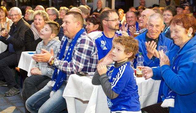 Volleyballtag startet mit Frühschoppen - Foto: Günter Kram