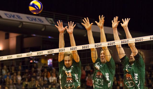 NETZHOPPERS starten ins Playoff-Derby - Foto: Gerold Rebsch
