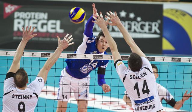 Im Halbfinale empfängt Friedrichshafen die SVG Lüneburg - Foto: Günter Kram