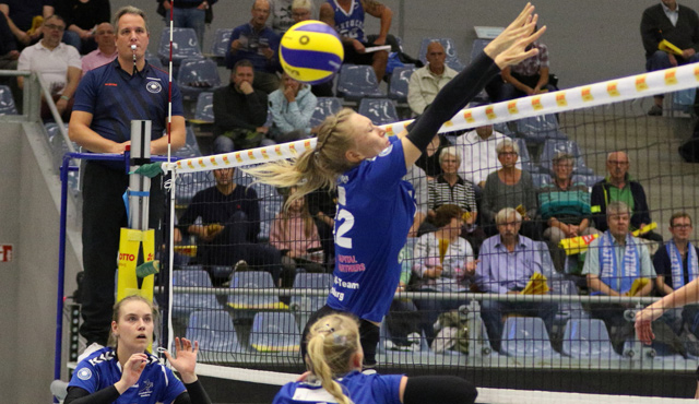 Niederlage trotz großem Kampf für das Volleyball-Team Hamburg - Foto: VTH Lehmann