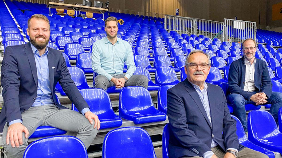 Thilo Späth-Westerholt, Simon Tischer, Peter Turkowski und Ralf Hoppe (von links)<br>Bild: VfB