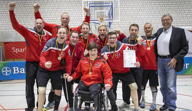 Leverkusens Sitzvolleyballer gewinnen den Titel - Foto: Beautiful Sports