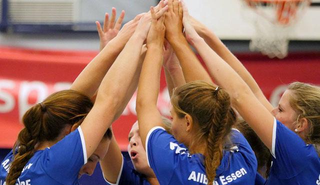 Letztes Spiel der Saison für den VC Allbau Essen - Foto: Michael Gohl