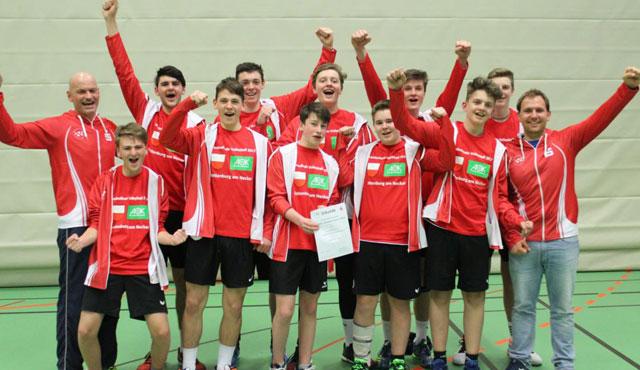Rottenburger Volleyballer vertreten Baden-Württemberg beim Bundesfinale in Berlin  - Foto: Jonas König