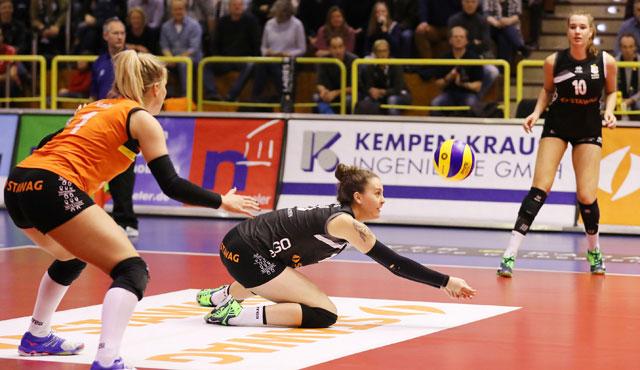 Kämpfende Ladies erbeuten einen Punkt gegen Potsdam - Foto: Ladies in Black Aachen