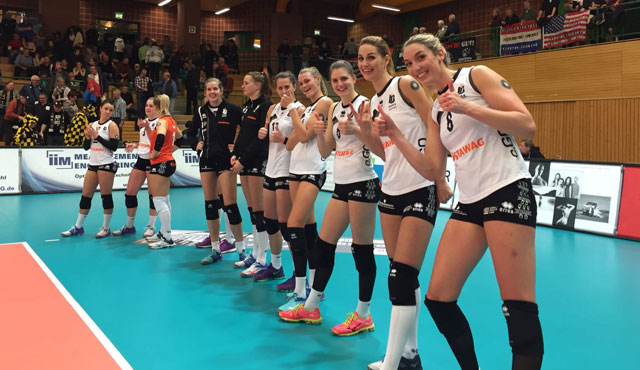Ladies Night in der Wolfsgrube endet 3:0 für die Aachenerinnen - Foto: Ladies in Black