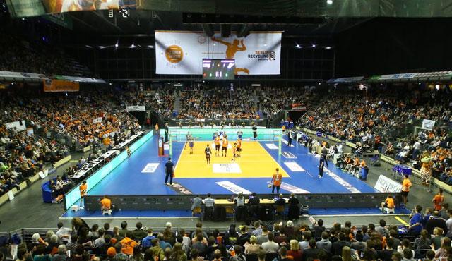BR Volleys fordern Klub-Weltmeister am Valentinstag - Foto: Eckhard Herfet