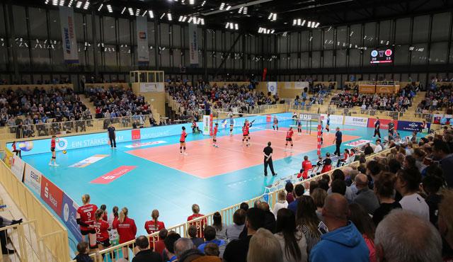 Saisonauftakt am 31. Oktober: VC Wiesbaden startet mit Heimspiel-Knaller gegen Potsdam - Foto: Detlef Gottwald