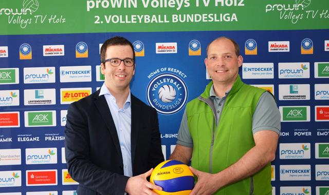 Jörn Riemenschneider trainiert die proWIN Volleys TV Holz - Foto: proWIN Volleys TV Holz, Dirk Reckstadt