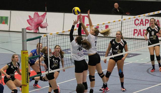 Volleyball-Team Hamburg verliert im Tie-Break gegen Dingden - Foto: VTH/Lehmann
