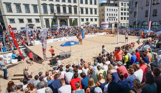 Bayerischer Volleyball-Verband setzt neue Anreize auf der Beachvolleyball Masters-Tour - Foto: www.sport-in-augsburg.de