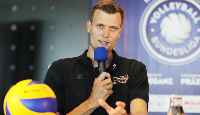 Robert Kromm von den BR Volleys will das <br>Foto: Photo Wende,www.photowende.com