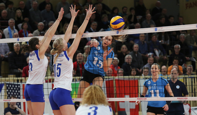 VCW gegen Dresden ohne Chance - Foto: Detlef Gottwald