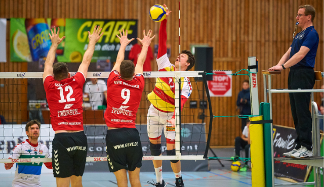 Hungrige BADEN VOLLEYS vor Spiel in Kriftel - Foto: Andreas Arndt