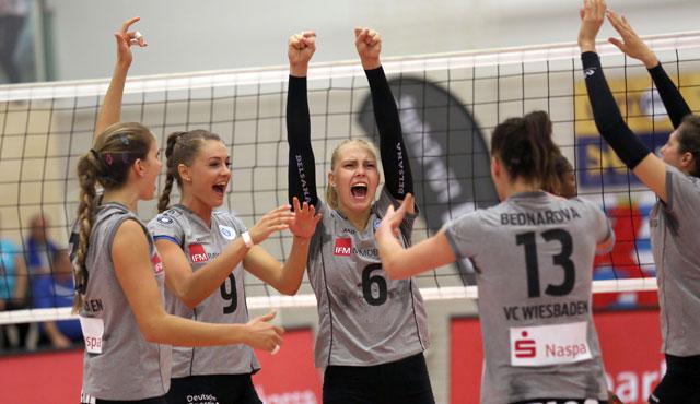 Arbeitssieg: Wiesbaden gewinnt in Erfurt mit 3:2 - Foto: Detlef Gottwald