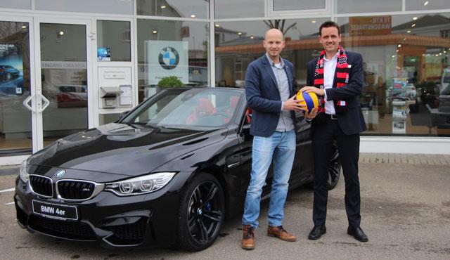 Die ahg Autohandelsgesellschaft wird neuer Partner des TV Rottenburg - Foto: TVR