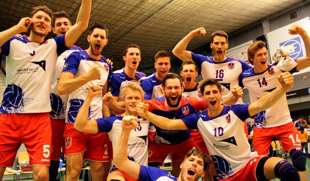 Sensation in Friedrichshafen - United Volleys 1:0 gegen den Titelverteidiger - Foto: United Volleys/Jan Kahlenbach