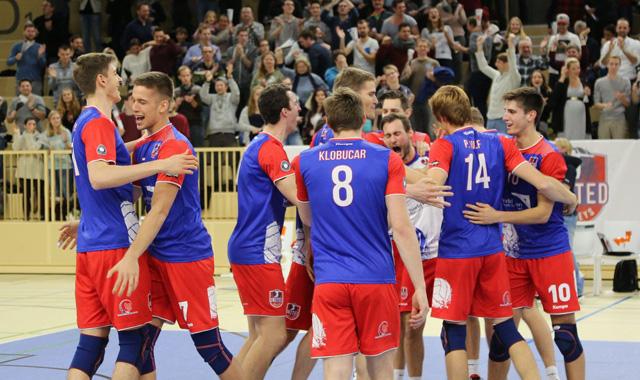 United Volleys schaffen Sensation gegen Friedrichshafen - Foto: United Volleys