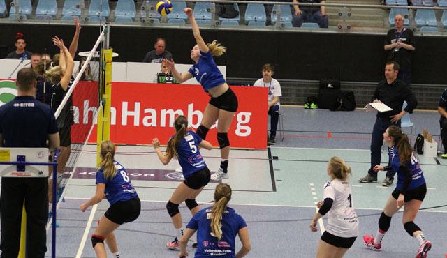 Volleyball-Team Hamburg reist zum Topspiel nach Dingden - Foto: VTH/Lehmann