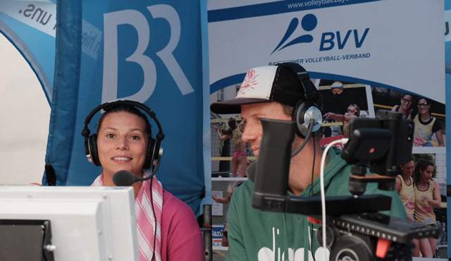 """Beachvolleyball und BR Sport: das passt zusammen!"""" - Foto: BVV"""