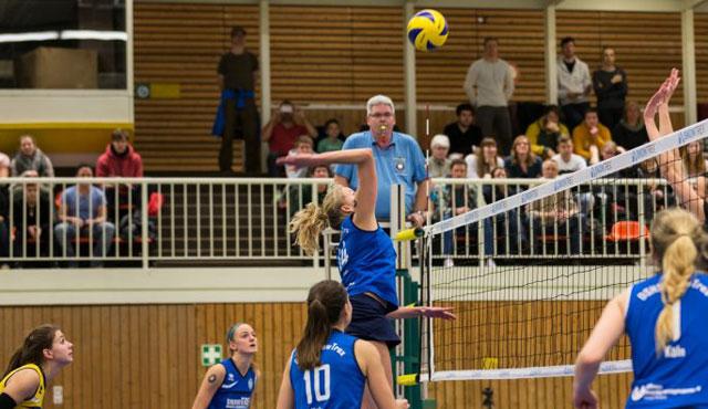 DSHS SnowTrex Köln-Volleyballerinnen mit knappen Niederlagen - Foto: Martin Miseré