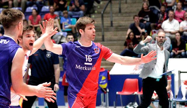 Gibt's die Sensation, oder gibt's Medaillen? - Foto: United Volleys/Gregor Biskup