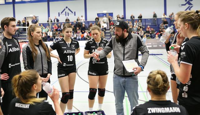 Essener Volleyballerinnen verdient sich einen Punkt - Foto: Tom Schulte