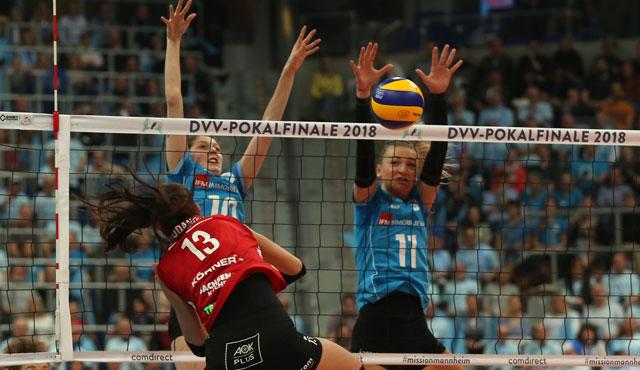 Wiesbaden ist Vize-Pokalsieger: VCW verliert Endspiel gegen Dresden - Foto: Detlef Gottwald