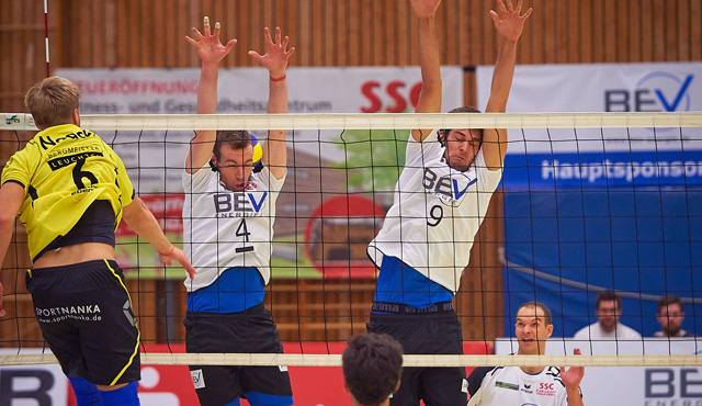 Heimpremiere verloren: SSC Karlsruhe vergibt 2:0-Satzführung - Foto: Andreas Arndt