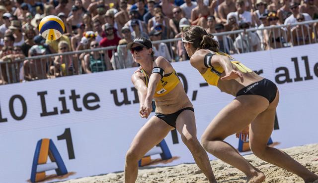 Wien, Stuttgart, Moskau - Foto: Jörg Mitter/Beach Volleyball Major Series/Red Bull Content Pool