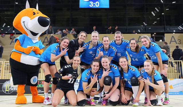 VC Wiesbaden gewinnt überlegen in Hamburg - Foto: Detlef Gottwald